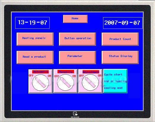 1)以plc+固态继电器来代替可控硅来进行温度控制