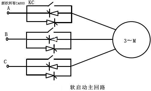 电机软启动器在空压机改造中的应用图片