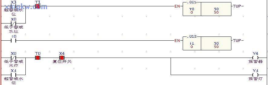 ckc液位继电器排水泵实物接线图